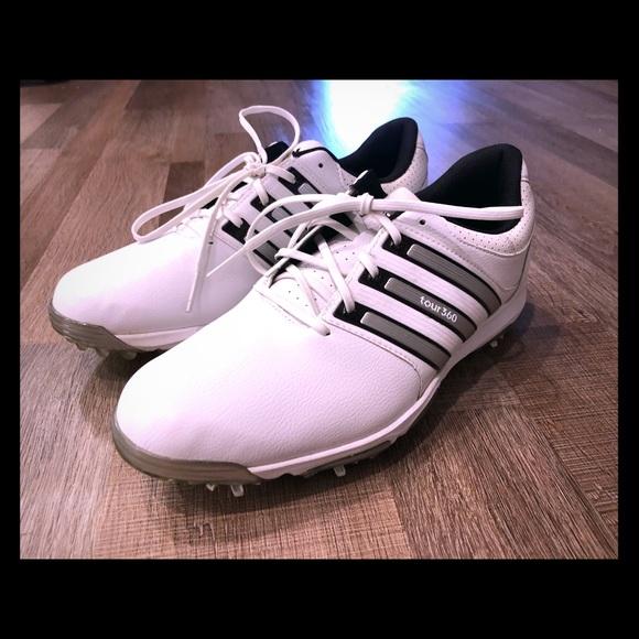 Adidas Tour 36 X Whitesilver Golf Shoes